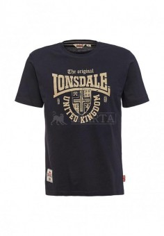 Футболка Lonsdale United Kingdom (темно синий цвет)