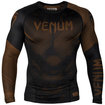 Рашгард Venum NoGi Brown