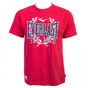 ​Футболка Everlast Sports Marl 1910 красного​ цвета